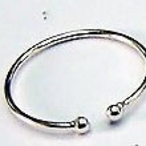 925 Sterling Silver Pack Of 10 Horse shoe Nose Rings Size 8mm